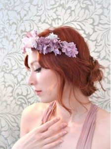 Soft Waves and Flower Crown